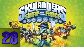 Skylanders Swap Force Gameplay: Fantasm Forest Part 28