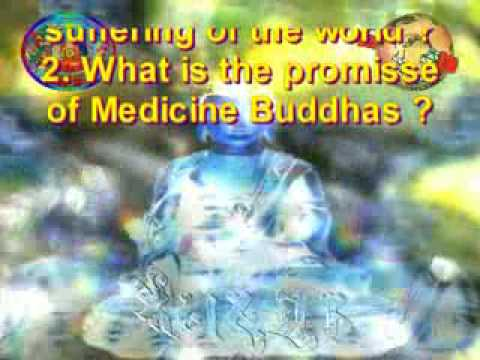 MEDICINE  BUDDHA - BLESSINGS