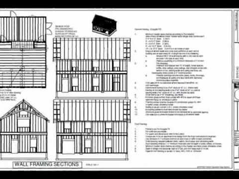 Pdf Barn Plans G440c 24 X 36 X 8 2 Story Barn Workshop