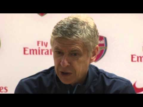 WENGER ON ARSENAL, CARDIFF, SOLSKJAER