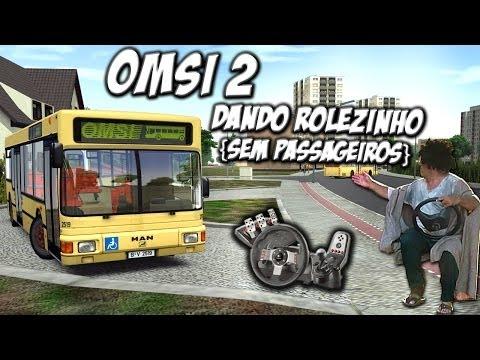 OMSI 2 - Simulador de ônibus - Com Logitech G27 - RaaVaz