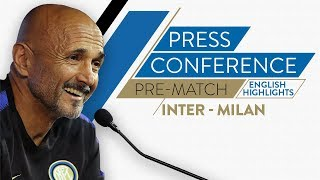 INTER-MILAN | Luciano Spalletti's Pre-match Press Conference (English Subtitles)