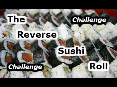 The Reverse Sushi Roll Challenge (L.A BEAST Video Response)