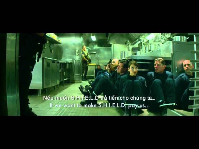 Captain America: Chiến Binh Mùa Đông: Trailer kèm trích đoạn chiến đấu đặc biệt