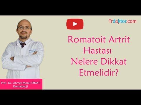 Romatoit Artrit Hastası Nelere Dikkat Etmelidir?