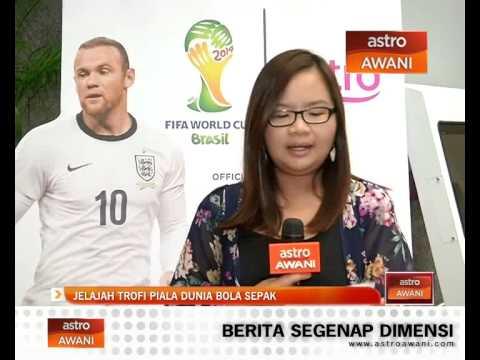 Jelajah trofi bola sepak Piala Dunia 2014