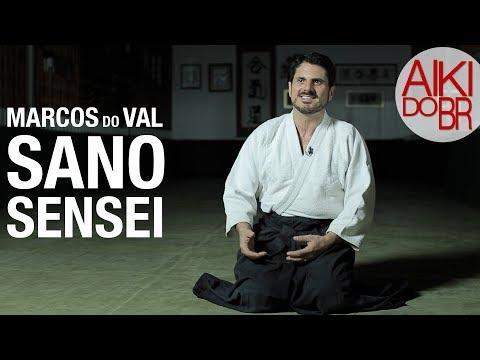 AIKIDO - Marcos do Val e seu Sensei