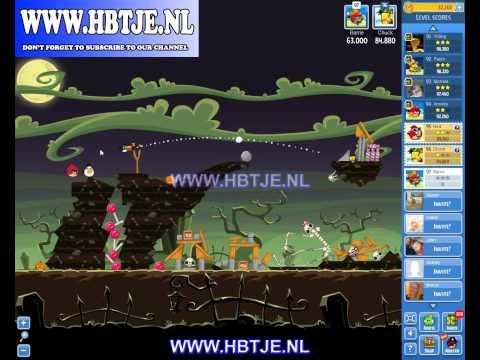Angry Birds Friends Tournament Level 2 Week 77 halloween (tournament 2) no power-ups