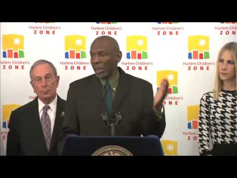 HCZ Press Conference: Harlem To Be America's Largest Free Wifi Zone