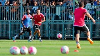 Il primo giorno di ritiro della Juventus - Juventus' first full day of pre-season
