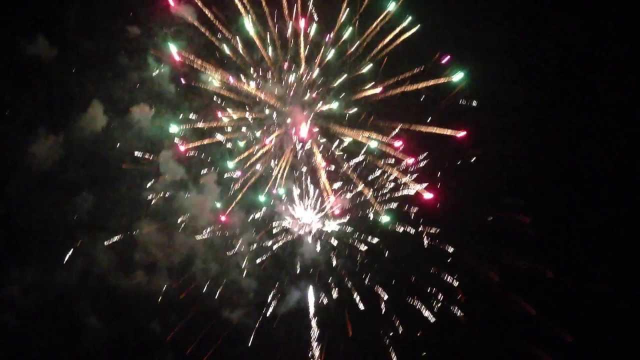 2013 backyard firework show youtube