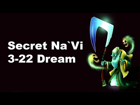 Secret vs Na`Vi 3-22 is real Starladder 10 Dota 2