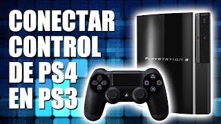 Cómo Conectar Control De PS4 En PS3