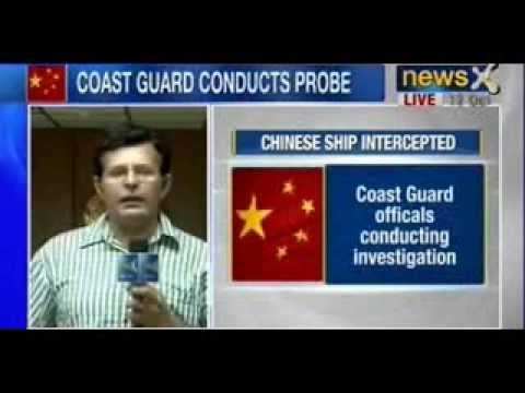 NewsX : Chinese Ship loaded with arms held by India