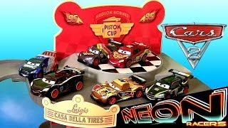 Cars 2 Neon Racers Metallic Finish 2014 NEW Lightning