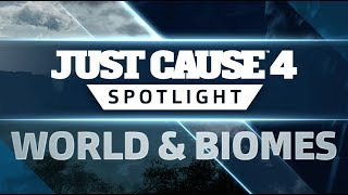 Just Cause 4 - World and Biomes