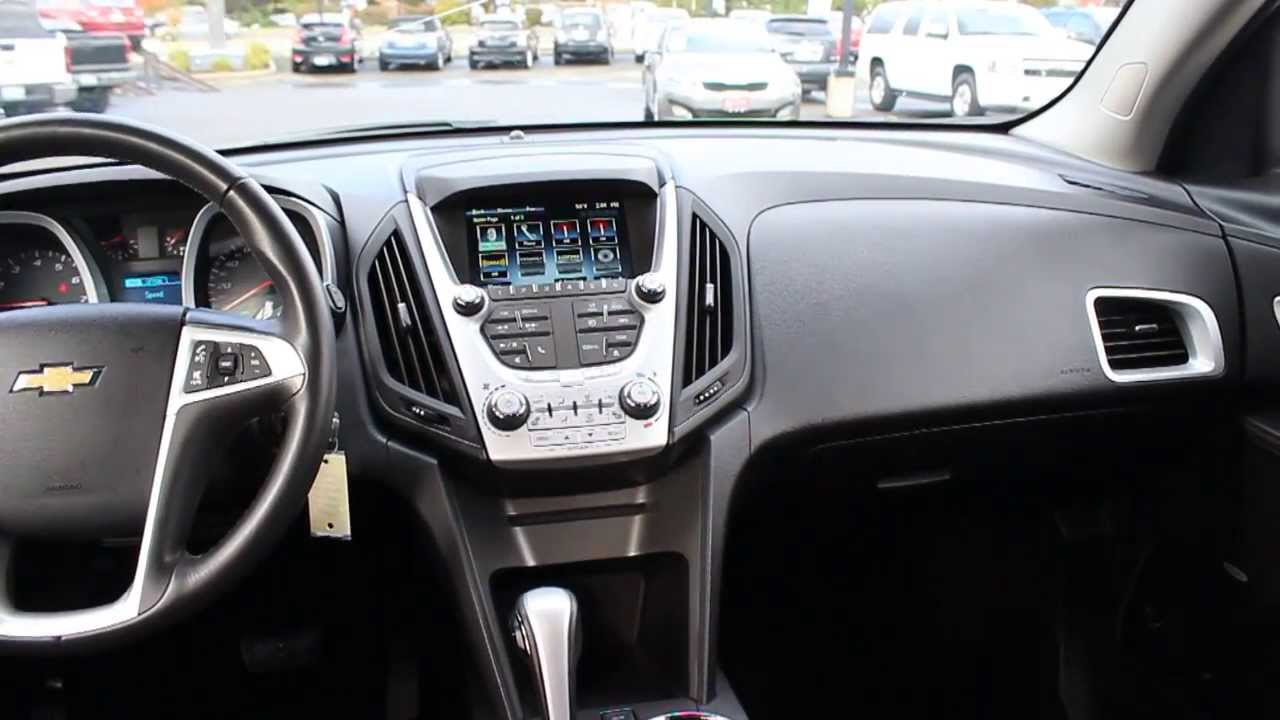 2013 chevrolet equinox summit white stock 606965 interior youtube. Black Bedroom Furniture Sets. Home Design Ideas