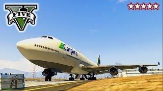 GTA 5 Funny Glitches!!! 747 Jet Online, Underwater