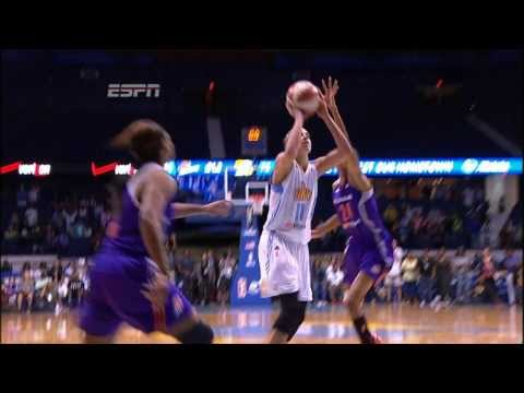 WNBA: Elena Delle Donne's Amazing Game Winner!