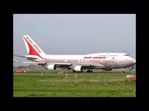 Indian Aviation indigo spice jet kingfisher air india 747