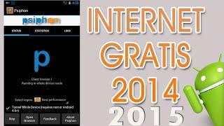 Internet Gratis En Cualquier Android!! Psiphon