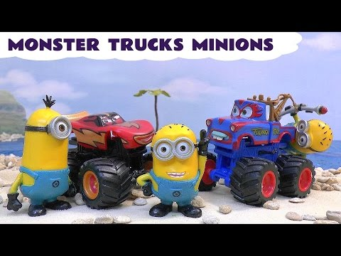Cars Monster Trucks Minions Funny Surprises Thomas and Friends Despicable Me El Macho Blind Bags