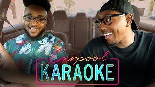 Carpool Karaoke | The FOUR's JeRonelle McGhee | 80s RnB Vibez