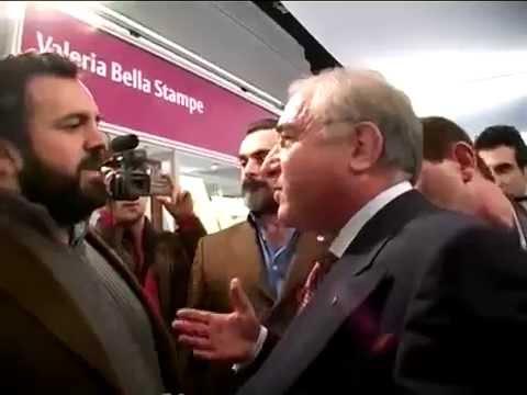 Marcello Dell Utri condannato vs Piero Ricca