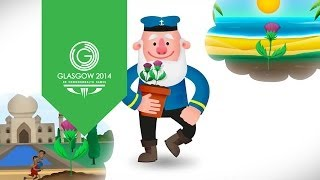 The Incredible Story Clyde Official Glasgow 2014 Mascot