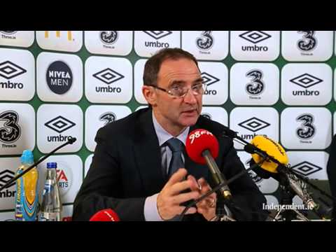 Republic of Ireland v Latvia - Post Match Press Conference - Martin O'Neill (15/11/13)