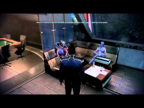 Mass Effect 3: Garrus and Liara have a chat about the past