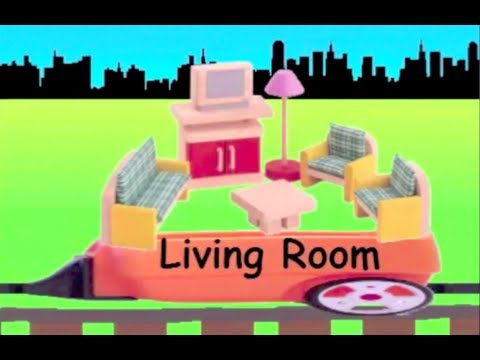Learn House Train - learning house items for kids