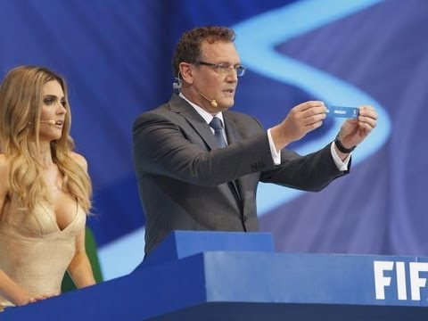 Fernanda Lima - World CUP Draw