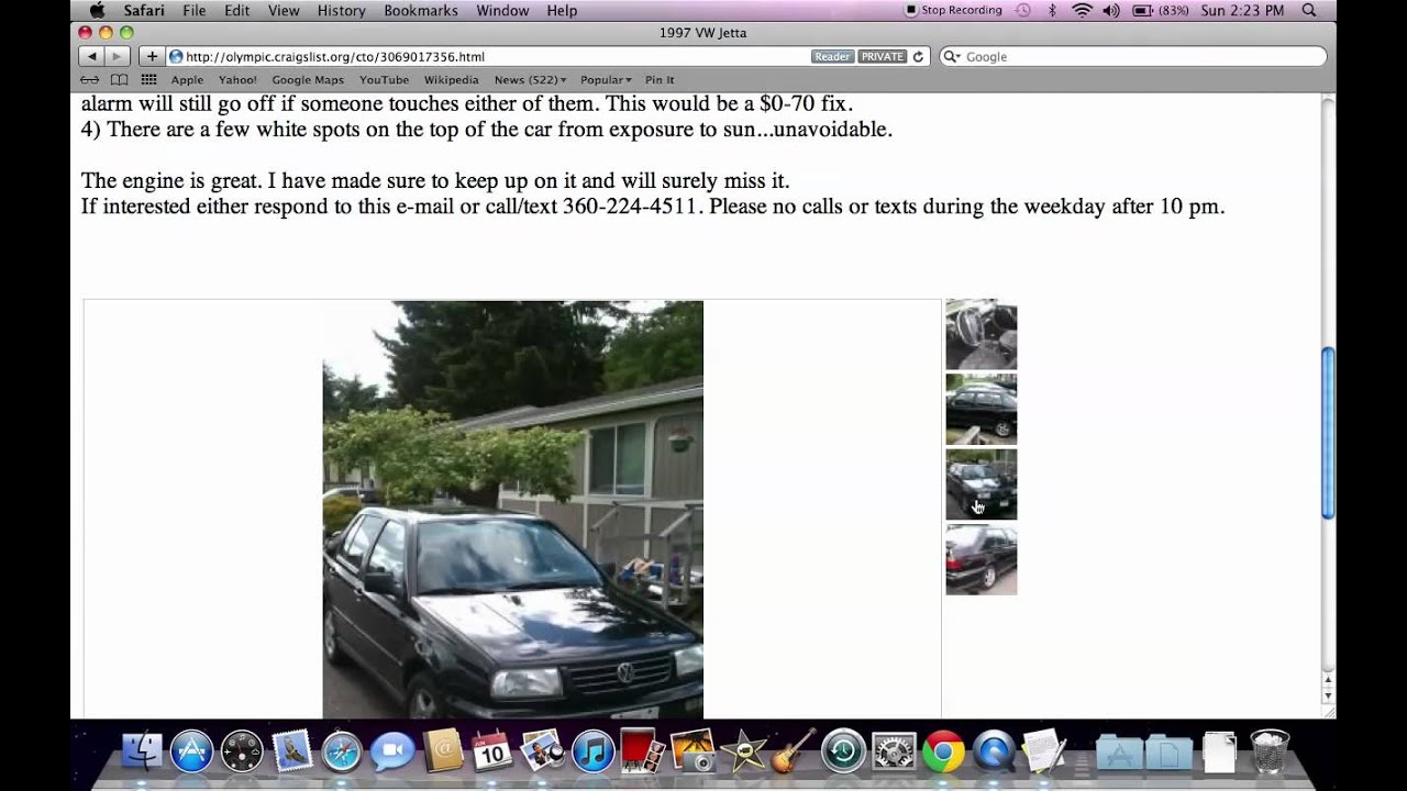 Craigslist Cars Olympic Peninsula