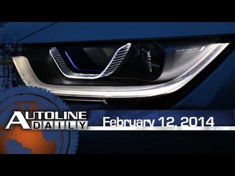 BMW to be First with Laser Headlamps - Autoline Daily 1312
