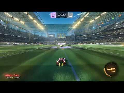 Rocket league 2v2 gameplay FT. Amirballer13