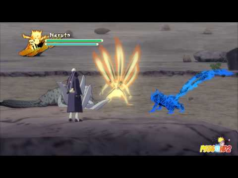 Naruto Shippuden: Ultimate Ninja Storm 3 - Tobi vs Naruto Boss Battle (Playthrough Part 12), BEST BEST BEST !!!