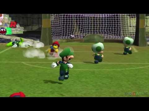 Super Mario Strikers - Gameplay Gamecube HD 720P (Dolphin GC/Wii Emulator),