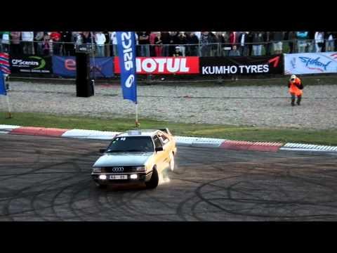 Audi turbo quattro donuts
