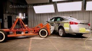 2014 Chevrolet Impala Side Crash Test By NHTSA