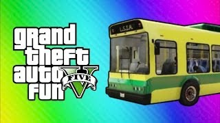 GTA Online Funny Moments Home Run, Vehicle Glitch Fun