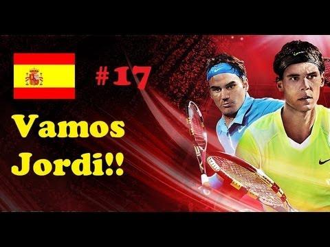 Top Spin 4 ps3 español modo carrera | Vamos Jordi | Parte 17 Final en Seul muy difícil