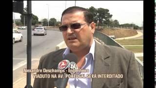 Viaduto da Av. Portugal ser� interditado