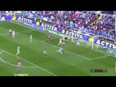 Malaga 0 1 Atletico Madrid 04 01 2014