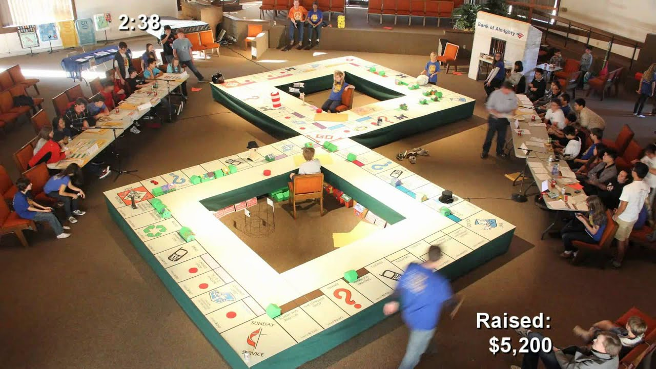The Gate Life Size Double Monopoly Game Youtube