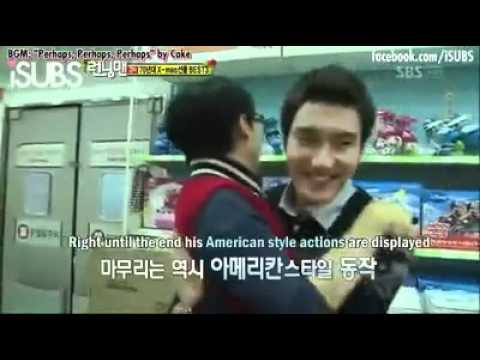 ChiLDisH SIWON with his big HAND GESTURE!!!