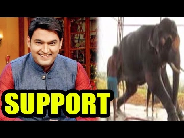 Comedy Nights with Kapil's Kapil Sharma SUPPORTS Free Sunder Campaign