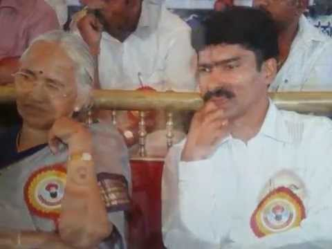 G.Naik and B.T.Lalitha Naik at Banjara temple inaguration function Arjunahalli thandya