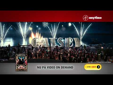 SF Anytime reklam för The Great Gatsby