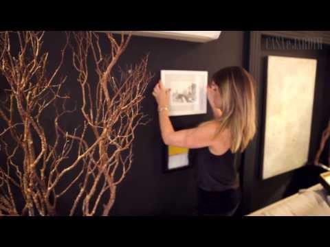 Como criar uma parede cheia de quadros | DIY Wall composition frames